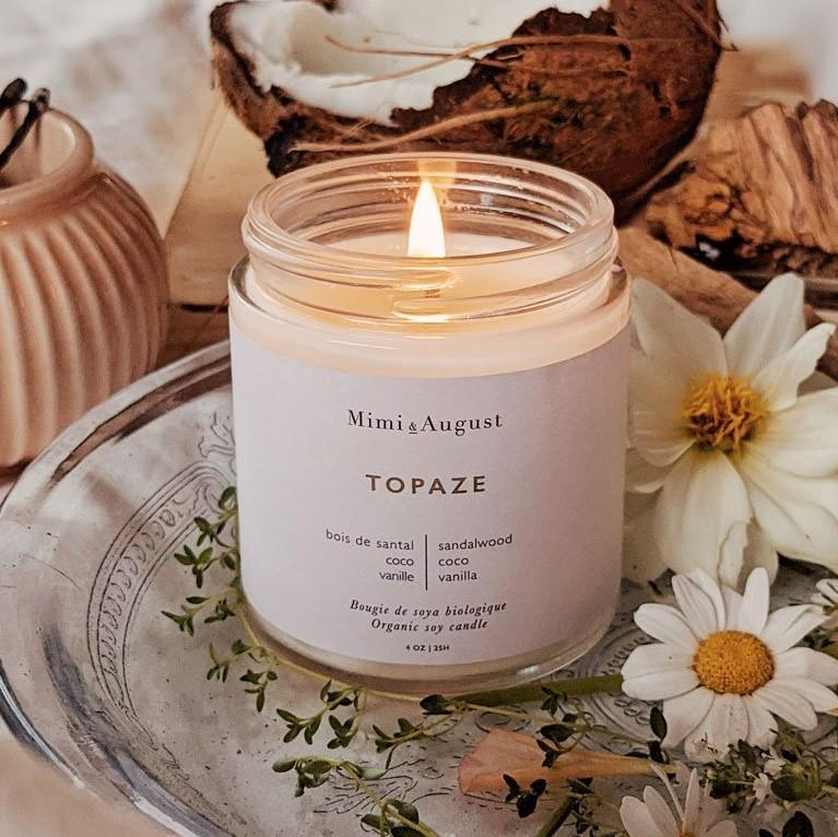 TOPAZE Candle