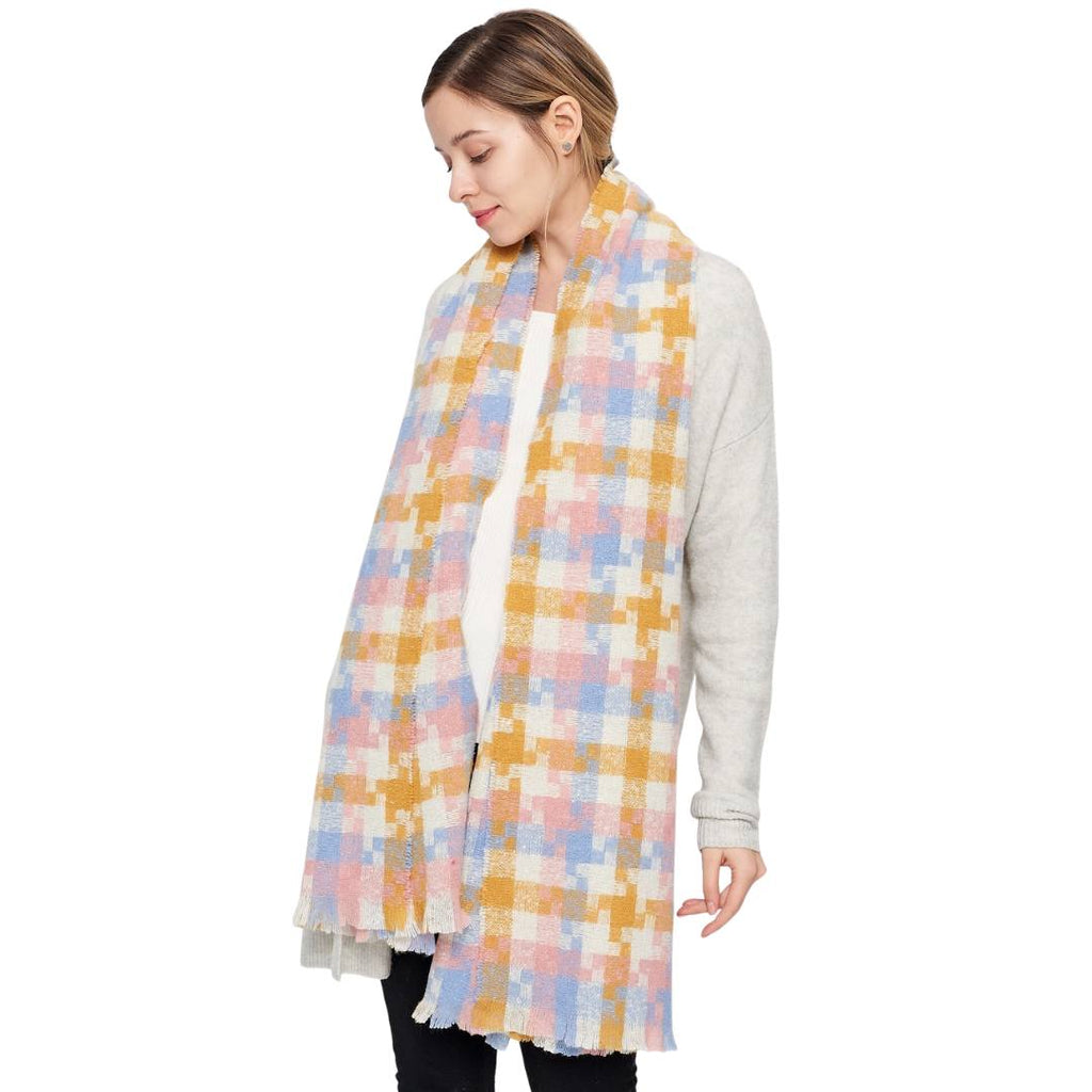 TORI Oversized Fall Scarf