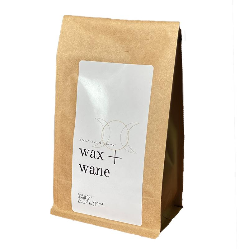WAX + WANE COFFEE BEANS