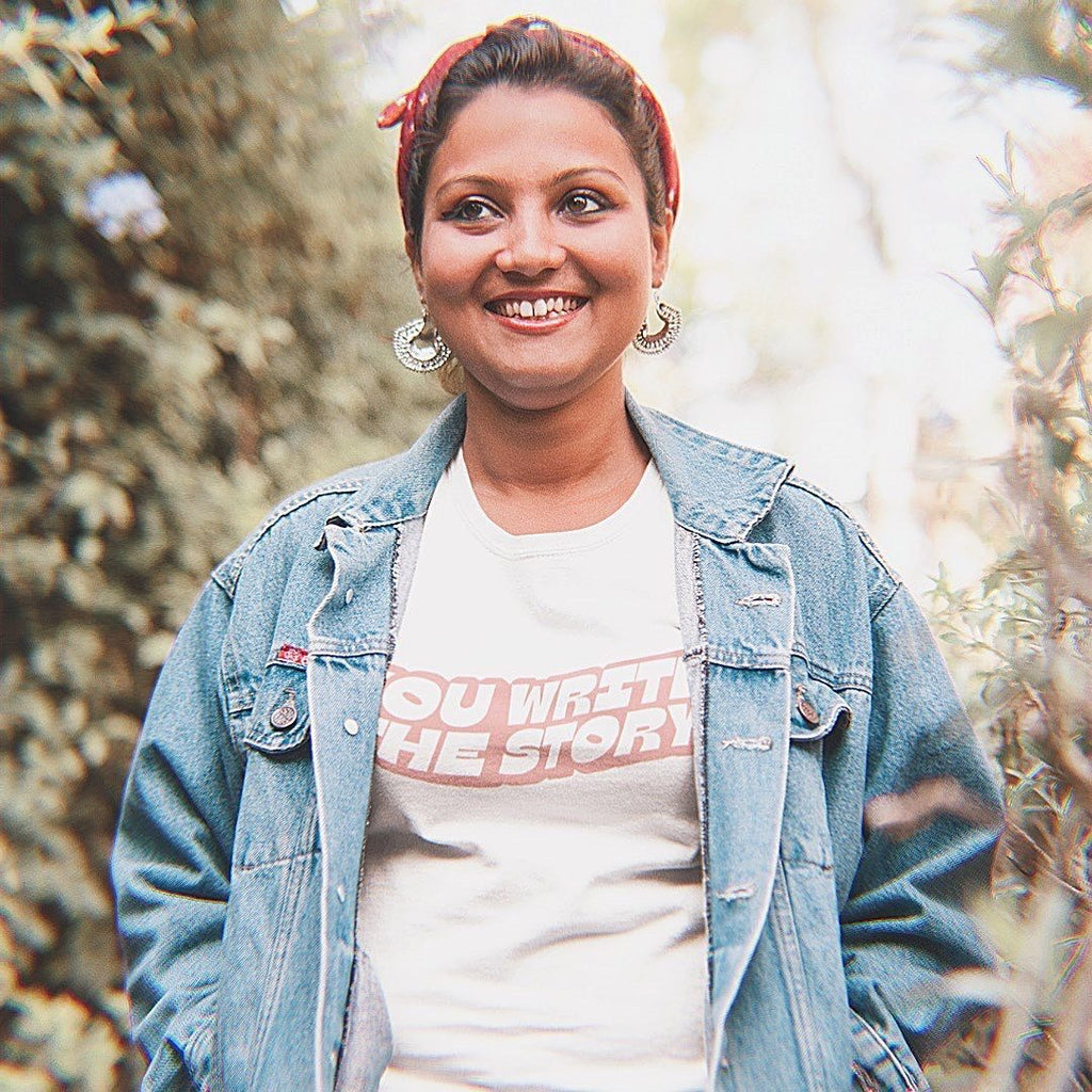 YOU WRITE THE STORY — Exclusive IWD Tee