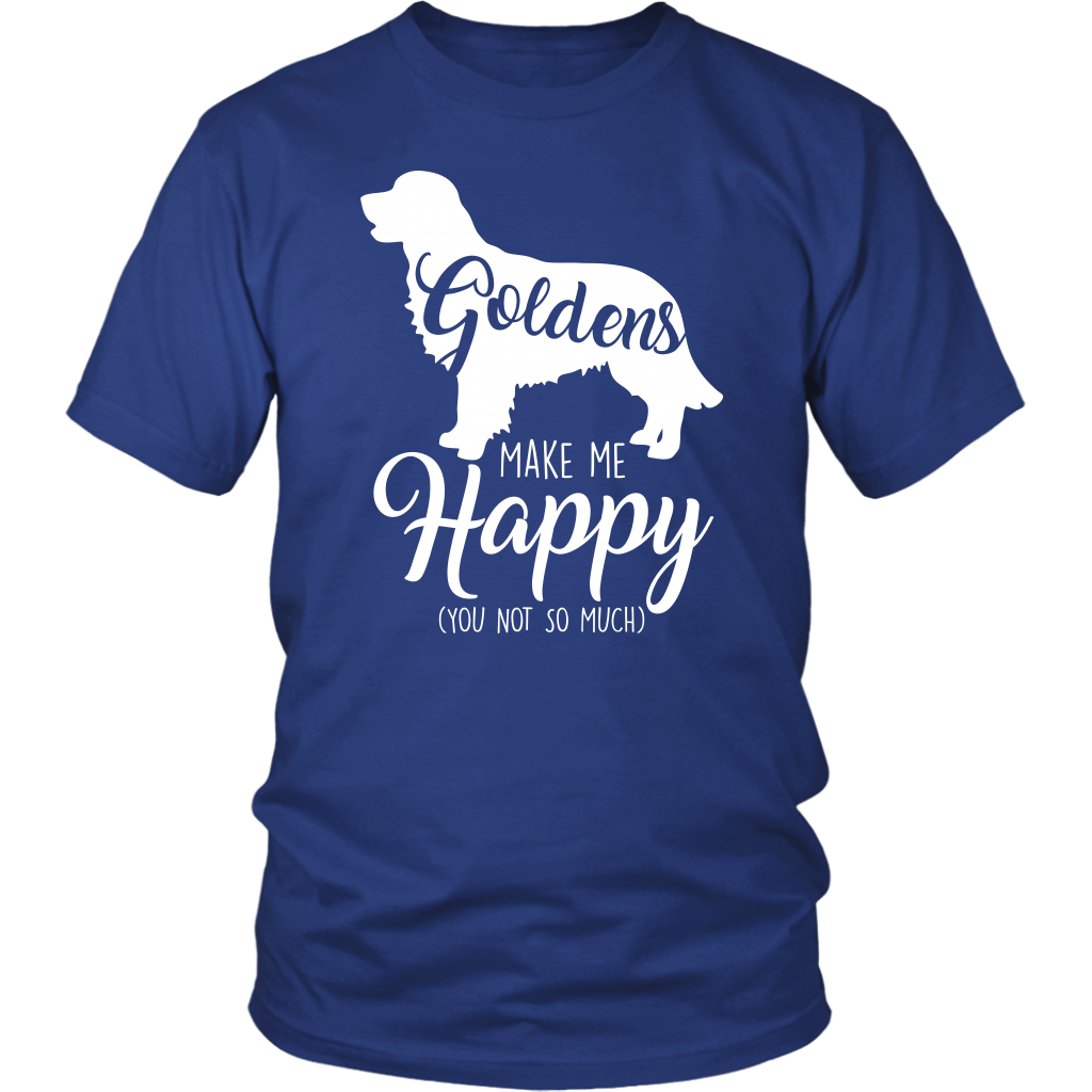 Goldens Make Me Happy (You Not So Much) Short Sleeves