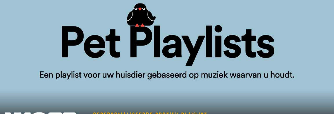 Hondenhoek.com blog Gepersonaliseerde Spotify Playlist