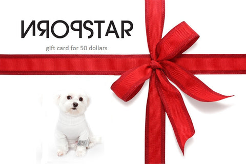 PORNSTAR VIRTUAL GIFT CARD for 50 dollars