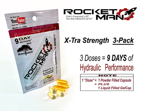 Rocket Man Extra Strength 3 pack