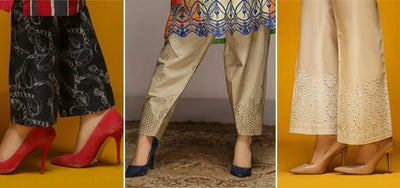 Trousers Flat 15% Off