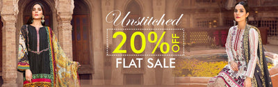 Unstitched 20% Sale