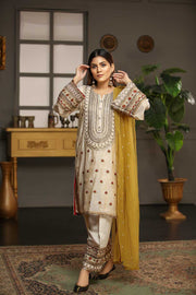 BLUSH GOLD - Jacquard.pk