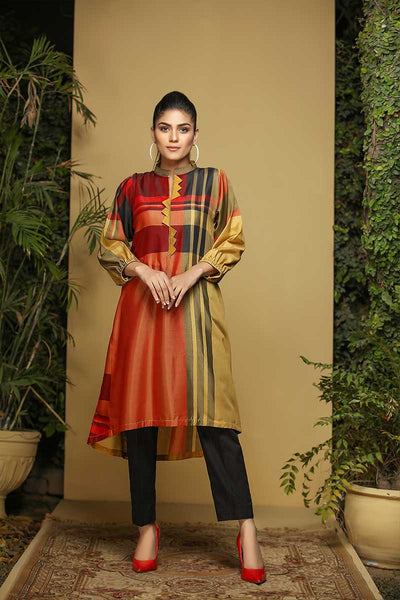 MULTI KHADI STRIPES - Jacquard.pk