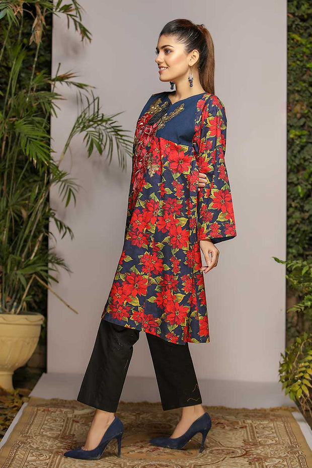 MID NIGHT BLOOMS - Jacquard.pk