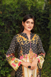 LAWN SHIRT / FLORAL ANTIQUE - Jacquard.pk