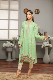 JACQUARD SHIRT / SEA GREEN - Jacquard.pk