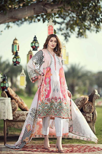 UNSTITCHED / PRINTED LAWN / Chess Fusion - Jacquard.pk