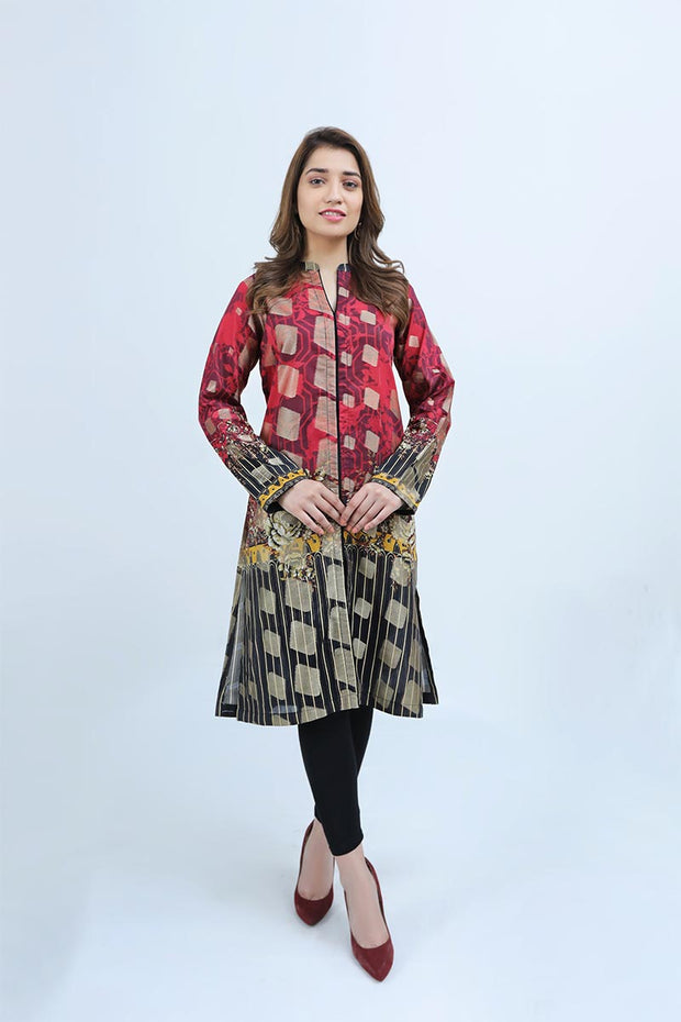 RED MAJESTIC - Jacquard.pk