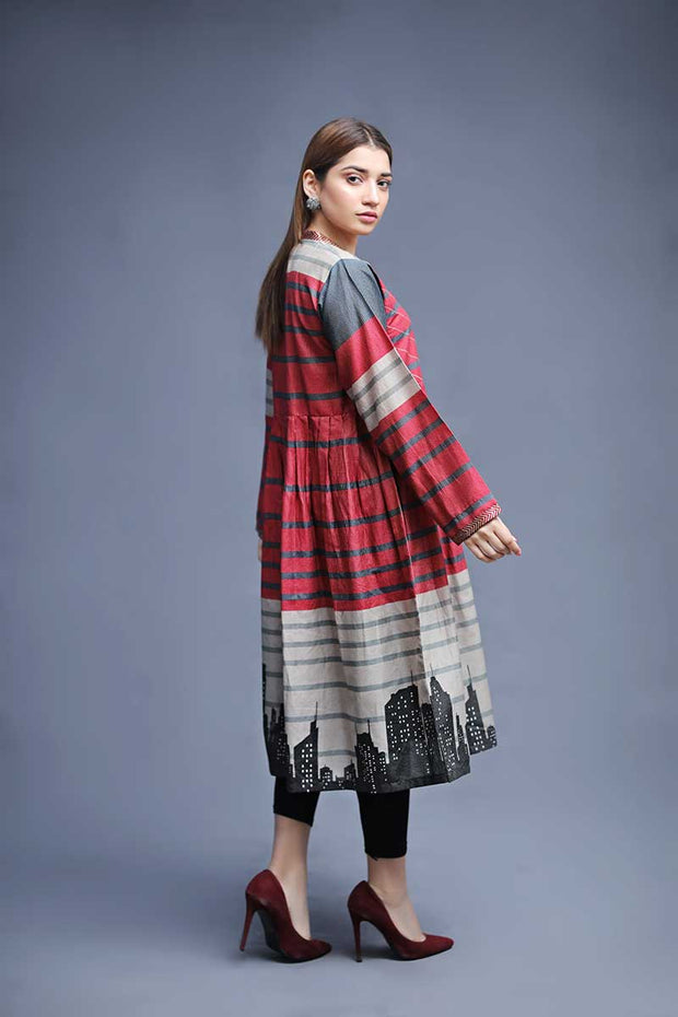 COLOUR BLOCK - Jacquard.pk