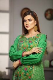 LAWN EMBROIDERED / GREEN MIST - Jacquard.pk