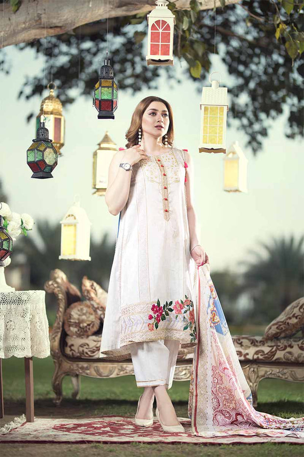 UNSTITCHED / PRINTED LAWN / SERENE - Jacquard.pk