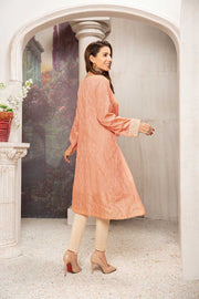 COTTON JACQUARD / PEACH SENSATION