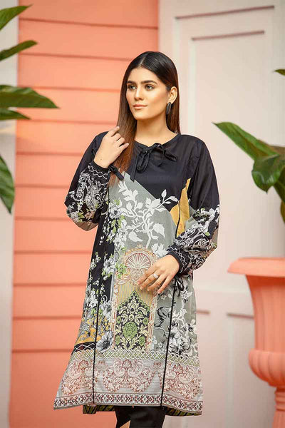LAWN SHIRT / FLORAL COLOUR BLOCK - Jacquard.pk