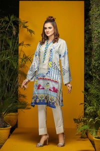 LAWN PRINTED / BLUES AND HUES - Jacquard.pk