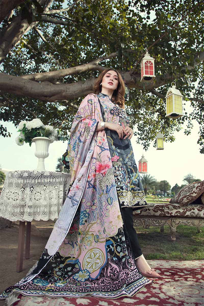 UNSTITCHED / PRINTED LAWN / Honey Comb Chintz - Jacquard.pk