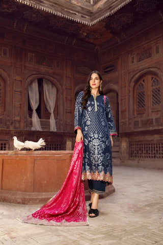 UNSTITCHED / MID NIGHT ROMANCE - Jacquard.pk
