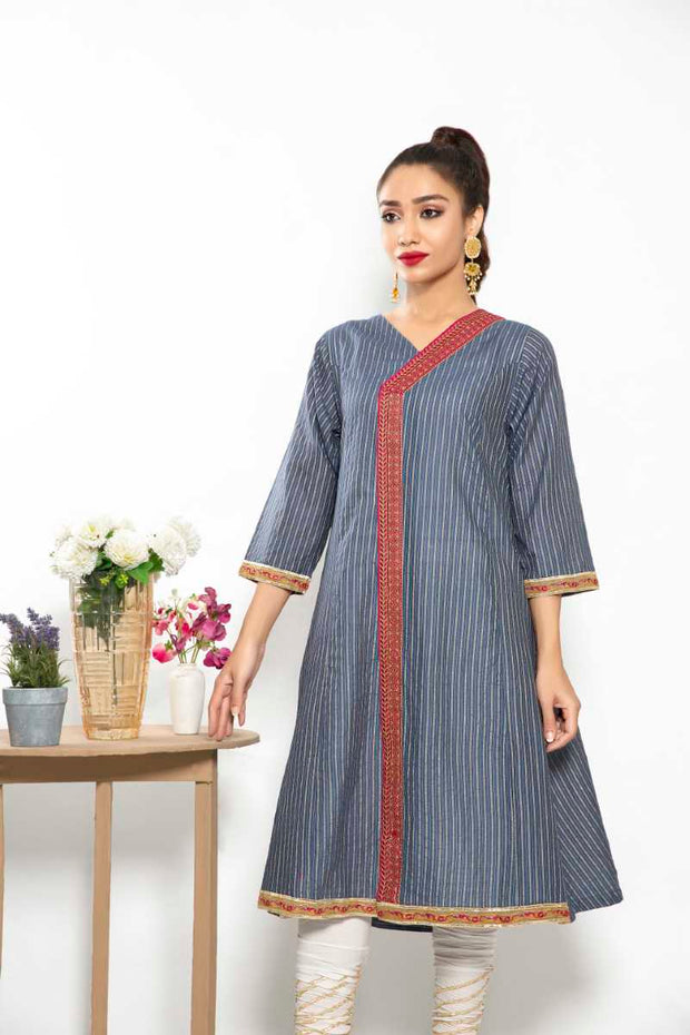 FANCY LAWN / BLUE SPIRIT - Jacquard.pk
