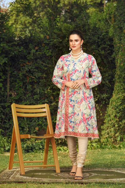 LAWN SHIRT / LEAF LAYERS - Jacquard.pk
