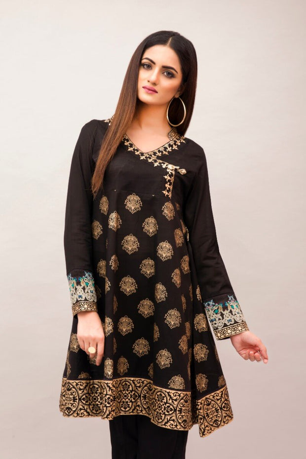 jssc-391- Women's Luxury Fashion PESHAWAR, dyed and embroidered lawn shirt