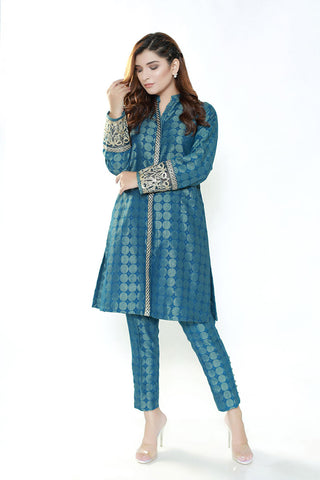 MAGIC TEAL - Jacquard.pk