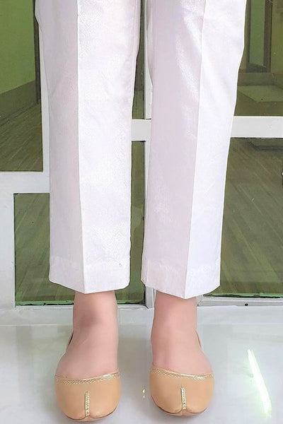 CAMBRIC TROUSER / BASIC WHITE
