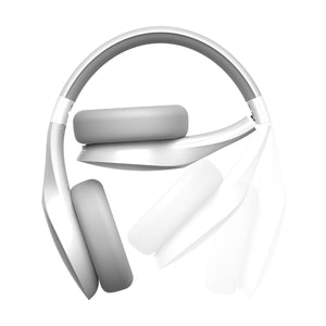 Audífono Bluetooth tipo diadema Motorola Pulse Escape Blanco