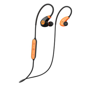 Audifonos Motorola In Ear Verve Loop 2 Plus Bluetooth Negro/Naranja