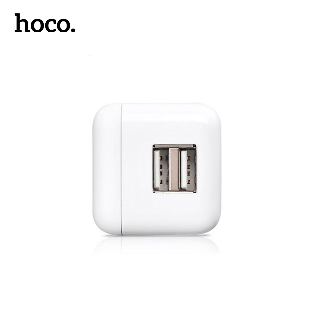 Cargador de pared dual UH201 hoco.