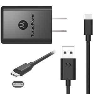 Cargador con cable Tipo C Motorola Turbo Power 15W
