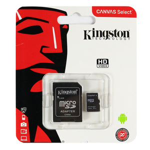 Memoria Micro SD Kingston con Adaptador