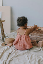Load image into Gallery viewer, Organic Cotton Muslin Zoe Set - Clementine