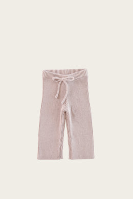 Morgan Knit Pant - Rosebud