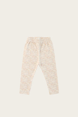 Leggings - Forget Me Knot Floral