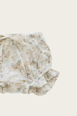Organic Cotton Frill Bloomers - Esme Floral