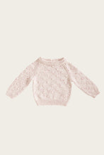 Load image into Gallery viewer, Dotty Knit - Raspberry Fleck