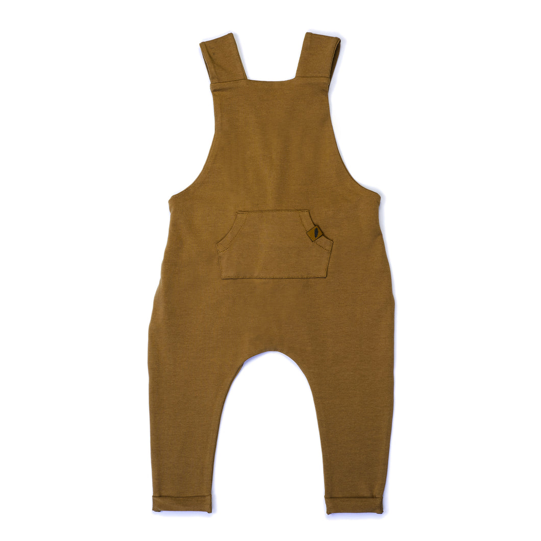 Organic Overalls - Curry