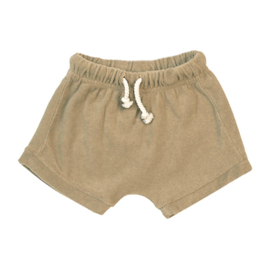 Organic Terry Shorts-Desert