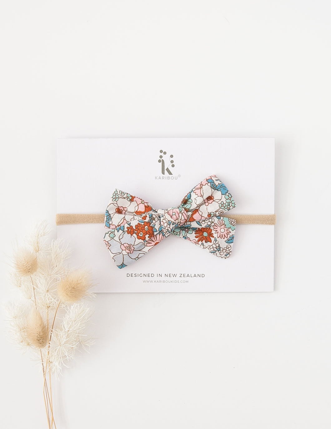 Melodie Floral Magic Cotton Bow Headband or Clip