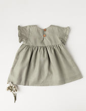 Load image into Gallery viewer, Ella Linen Dress - Sage
