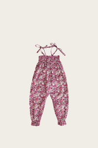 Summer Playsuit - Garden Print