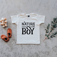 Load image into Gallery viewer, Nature Boy Organic Kids Tee - Cream