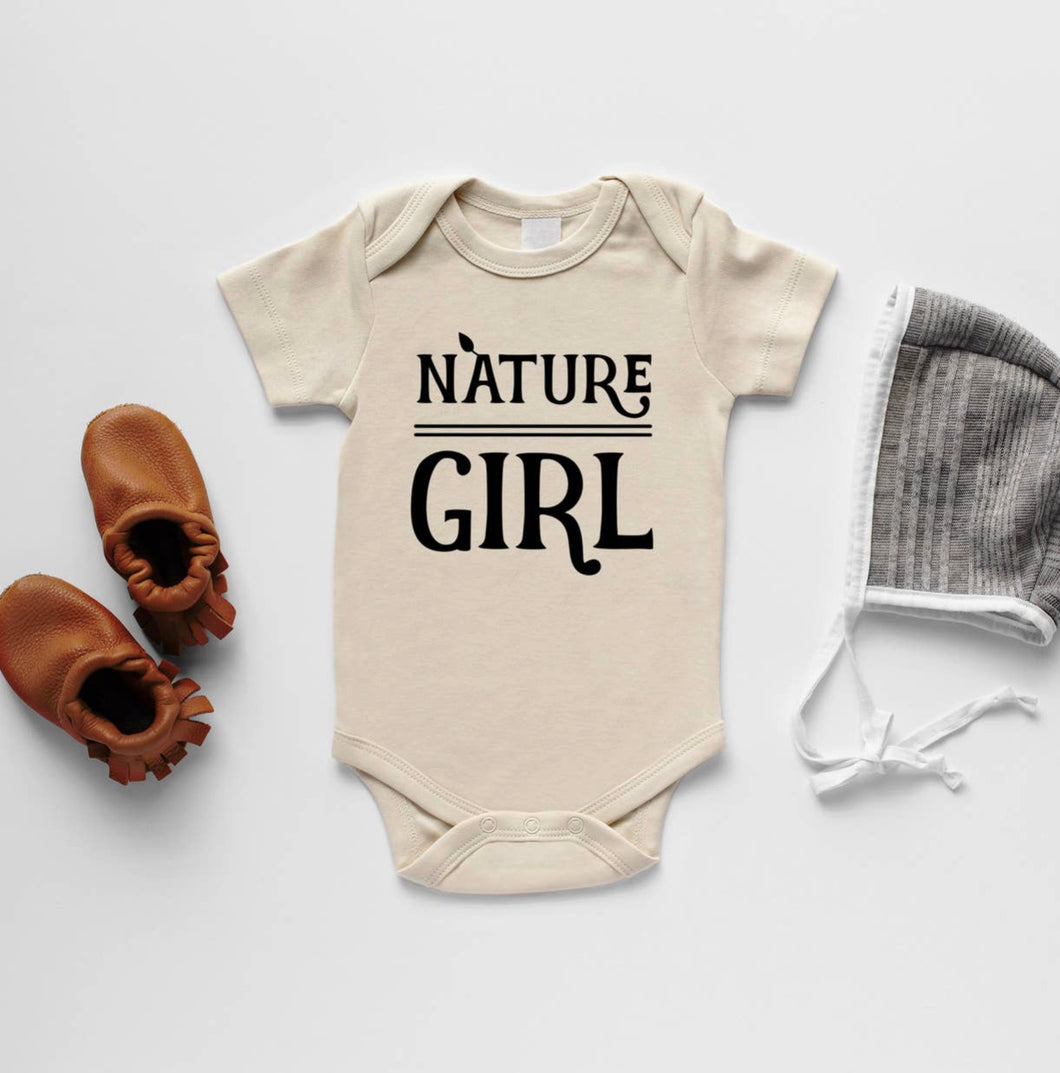 Nature Girl Organic Baby Bodysuit