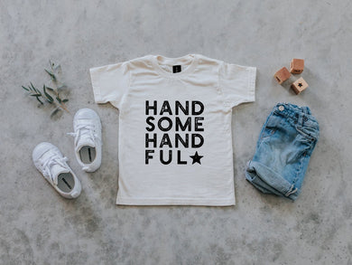 Handsome Handful Organic Kids Tee