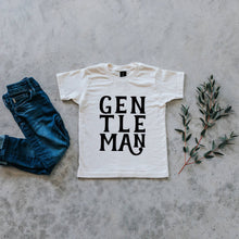 Load image into Gallery viewer, Gentleman Organic Kids Tee - Cream