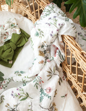 Load image into Gallery viewer, Organic Cotton Baby Swaddle - Botanical